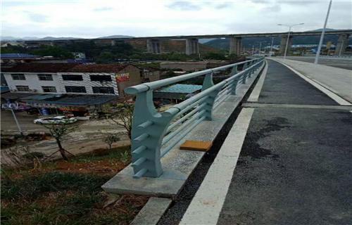 聊城公路防撞護欄認準鴻源護欄廠家橋梁護欄多少錢