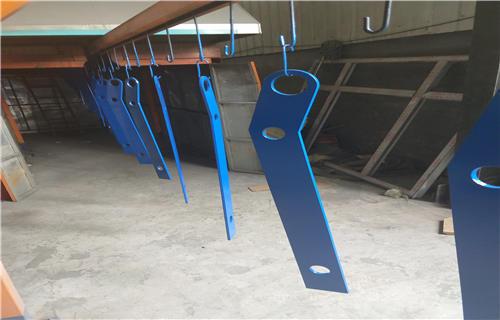 长沙Q235桥梁护栏防撞钢板立柱定制护栏桥梁护栏多少钱