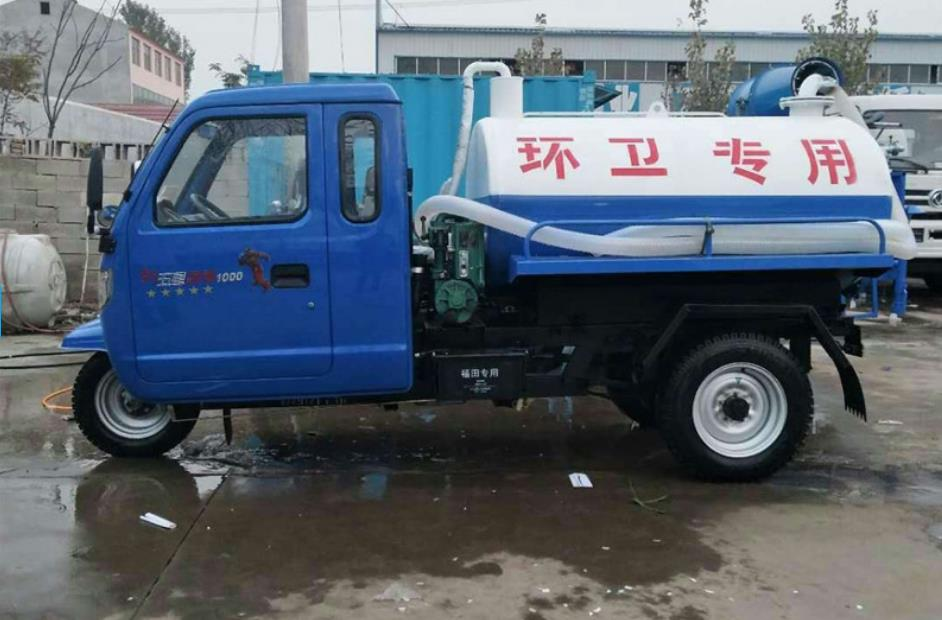 海南市三轮吸粪车厂家直供产品规格