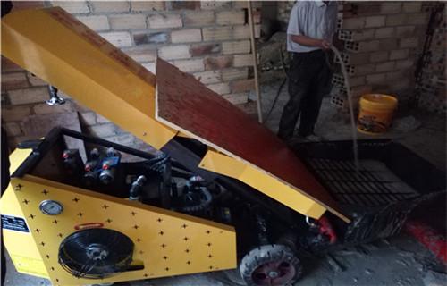 合肥蓋房子用什么機器二次結構框架澆筑泵