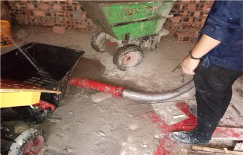 赤峰房間里的二次結構用什么機器二次結構隔墻澆筑泵
