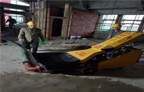 黃岡工地輸送混凝土的設備二次結構構造澆注泵
