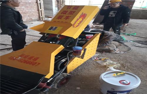 臨滄遠距離輸送混凝土的機器二次結構圈梁澆筑泵