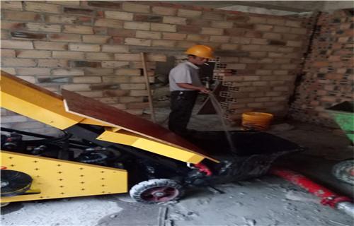 常州遠距離輸送混凝土的機器小型二次結構泵