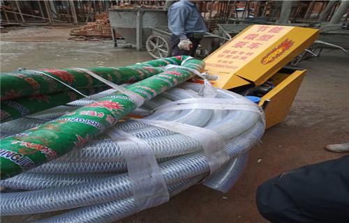 江門遠距離輸送混凝土的機器二次結構隔墻澆筑泵