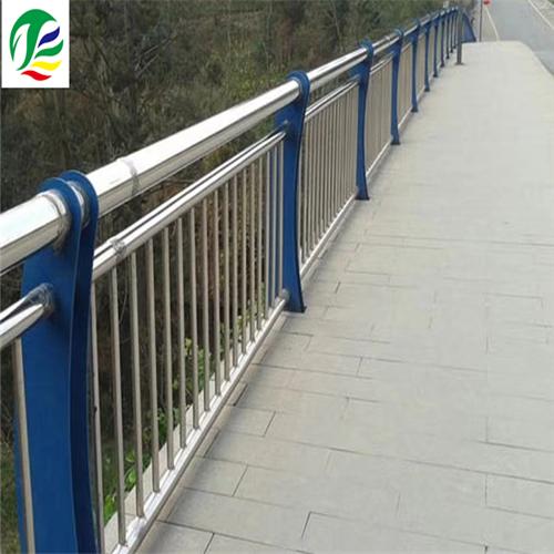 克拉玛依河道不锈钢复合管栏杆实力定制