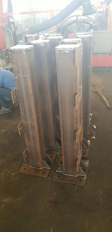 玉樹q345b防撞橋梁欄桿立柱安裝鑫旺通欄桿