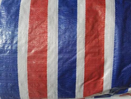 湖州紅白藍條彩條布:信譽保證