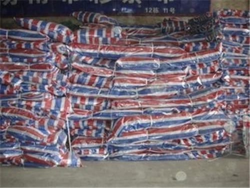 平頂山聚乙烯單覆膜彩條布顏色