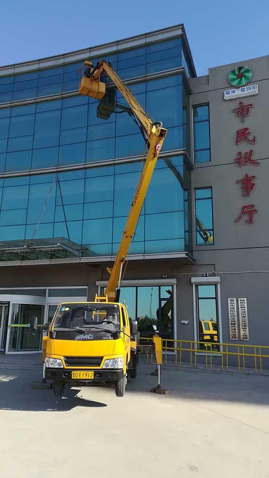 青岛高空作业车租赁服务中心