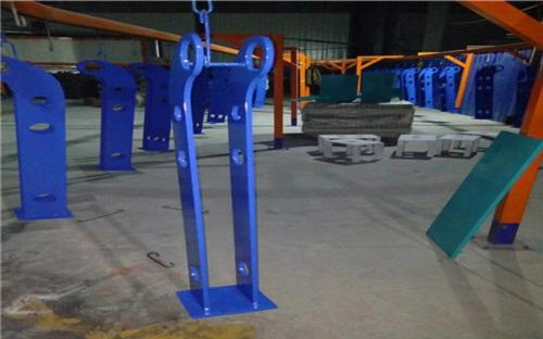丹东不锈钢双金属复合管景观护栏样式丰富