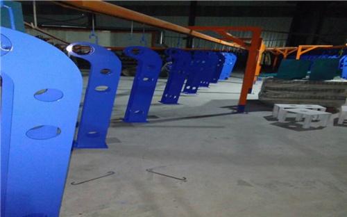 兴安不锈钢碳素钢复合管桥梁护栏样式丰富