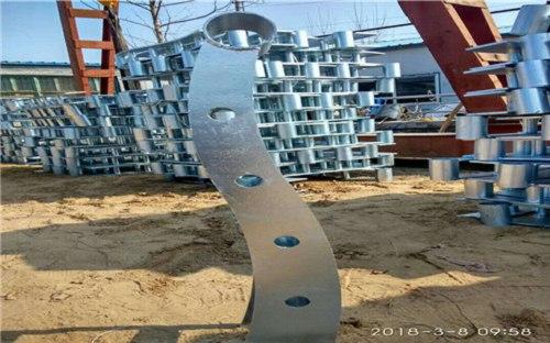 南充不锈钢双金属复合管景观护栏厂家全国现货