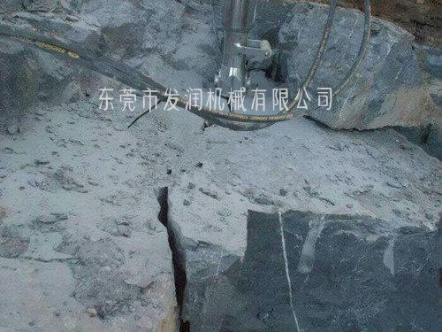 推薦:杭州 大型碎石分裂機 地基開挖巖石設備