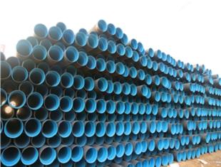 平涼PE鋼帶螺旋波紋管聚乙烯PE管