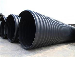 莱芜HDPE钢带波纹管送货到工地
