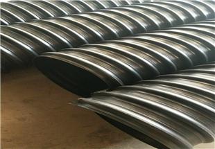 营口HDPE钢带波纹管地埋排水管