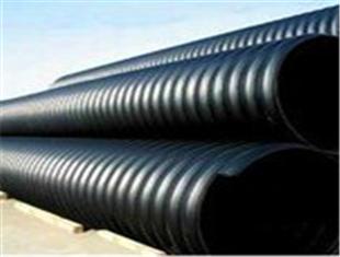 常州HDPE钢带波纹管地埋排水管