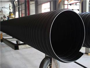 辽阳钢带增强螺旋波纹管地埋排水管