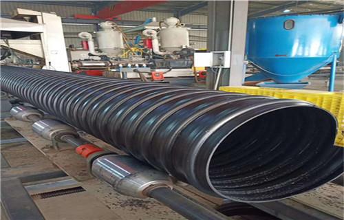 永州钢带增强螺旋波纹管市政排污