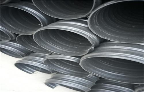 兴安国标:钢带波纹管送货到工地